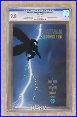 Batman The Dark Knight Returns (1st Printing) #1 1986 CGC 9.8 0231008001