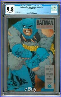 Batman The Dark Knight Returns #2 (1986) CGC 9.8 White Pages Miller 1st Print