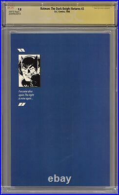 Batman The Dark Knight Returns 2-1ST CGC 9.8 SS 1986 2504925014