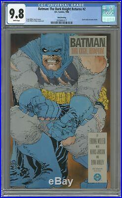 Batman The Dark Knight Returns 2-3RD CGC 9.8 1986 2039891017