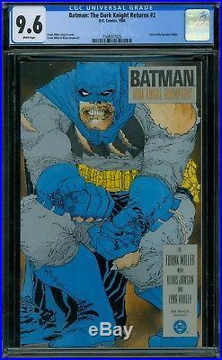 Batman The Dark Knight Returns 2 CGC 9.6 White Pages