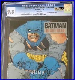 Batman The Dark Knight Returns #2 CGC 9.8 Frank Miller DC Comic 1986