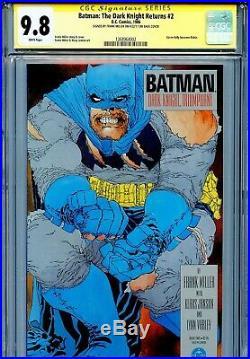Batman The Dark Knight Returns 2 CGC 9.8 SS 1st print Miller Janson Superman WP