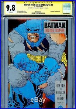 Batman The Dark Knight Returns 2 CGC 9.8 SS 1st print Superman Miller Janson WP