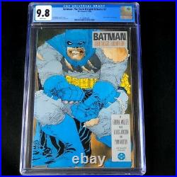 Batman The Dark Knight Returns #2 CGC 9.8 WHITE Pages DC Comic 1986