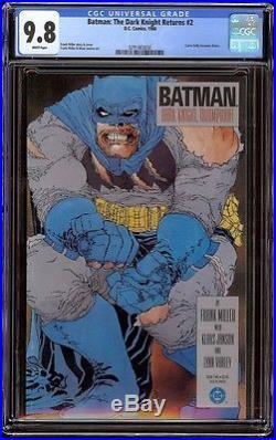 Batman The Dark Knight Returns # 2 CGC 9.8 White (DC, 1986) Classic Frank Miller