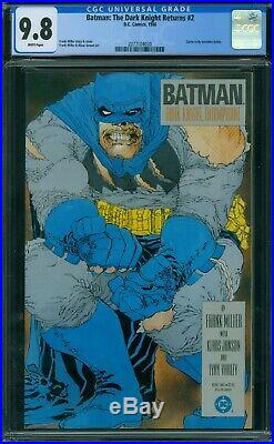 Batman The Dark Knight Returns 2 CGC 9.8 White Pages