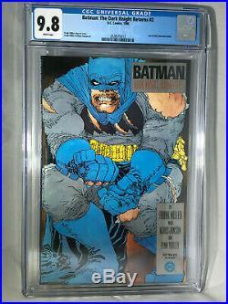 Batman The Dark Knight Returns 2 CGC 9.8 White Pages 1986 NM/MT DC Comics Miller