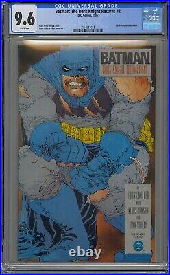 Batman The Dark Knight Returns #2 Cgc 9.6 White Pages