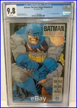 Batman The Dark Knight Returns #2 Cgc 9.8 Nm/mint Frank Miller Copper Age Key 2