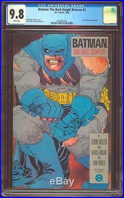 Batman The Dark Knight Returns 2 Cgc-9.8 Nm/mint White DC Comics 827 1st Print