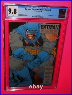 Batman The Dark Knight Returns #2 DC 1986 1st Print Cgc 9.8 White Pgs Iconic