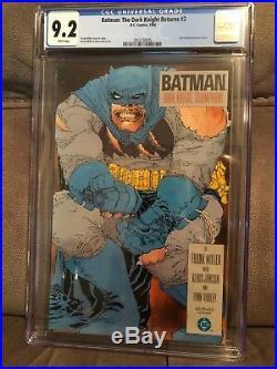 Batman The Dark Knight Returns 2 (First Print) CGC 9.2