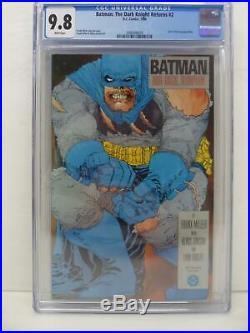 Batman The Dark Knight Returns 2 Frank Miller CGC GRADED 9.8