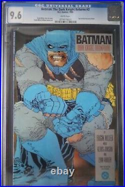 Batman The Dark Knight Returns #2 Frank Miller Cgc 9.6