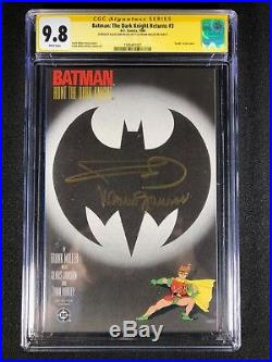 Batman The Dark Knight Returns #3 CGC 9.8 SS (1986) Frank Miller & K Janson