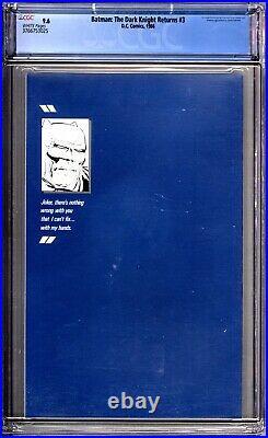 Batman The Dark Knight Returns 3 CGC Graded 9.6 NM+ DC Comics 1986