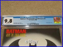 Batman The Dark Knight Returns #3 Death Of Joker CGC 9.8 NM+ DC 1986