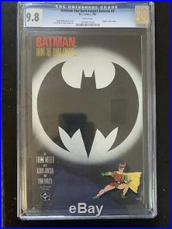 Batman The Dark Knight Returns #3 Death Of The Joker CGC 9.8 1986 DC
