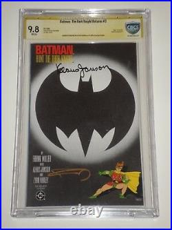 Batman The Dark Knight Returns 3 (May 1986) CBCS 9.8 Signed by Frank Miller