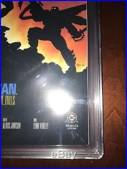 Batman The Dark Knight Returns 4 (1986) CGC 9.8