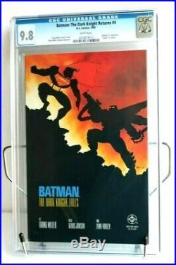 Batman The Dark Knight Returns #4 1986 (CGC 9.8 NM/MINT) Frank Miller DC
