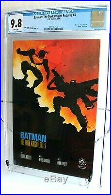 Batman The Dark Knight Returns #4 1986 (CGC 9.8 NM/MINT) Frank Miller DC White