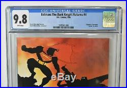 Batman The Dark Knight Returns #4 1986 CGC Graded 9.8 Frank Miller Superman