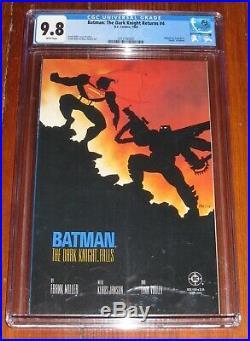 Batman The Dark Knight Returns #4 1986 DC CGC 9.8 White Pages