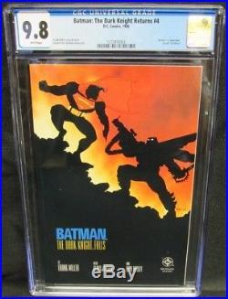 Batman The Dark Knight Returns #4 (1986) Death of Alfred CGC 9.8 CM1018