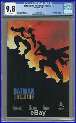 Batman The Dark Knight Returns #4-1ST CGC 9.8 1986 2023097005