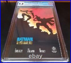 Batman The Dark Knight Returns #4-1ST CGC 9.8 1986 White Pages