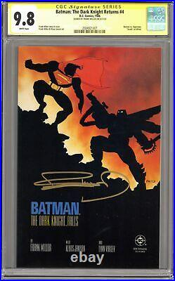 Batman The Dark Knight Returns #4-1ST CGC 9.8 SS 1986 2504921007
