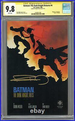 Batman The Dark Knight Returns #4-1ST CGC 9.8 SS 1986 2504921008