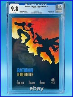 Batman The Dark Knight Returns #4 CGC 9.8 1986
