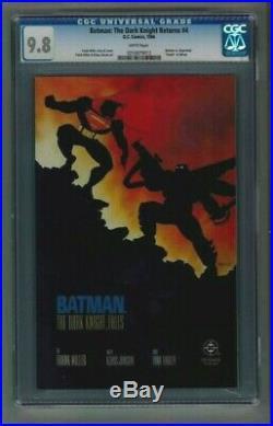 Batman The Dark Knight Returns #4 CGC 9.8 1st Print 1986