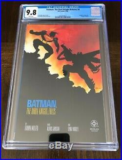 Batman The Dark Knight Returns #4 CGC 9.8 NM/M Frank Miller Batman Vs Superman
