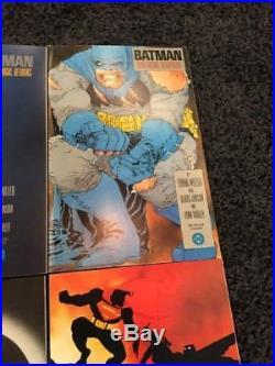 Batman The Dark Knight Returns 4 Issue Comic Set Lot #1-4 Frank Miller