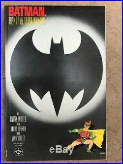 Batman The Dark Knight Returns Book 1 2 3 4 Frank Miller High Grade 1st prints