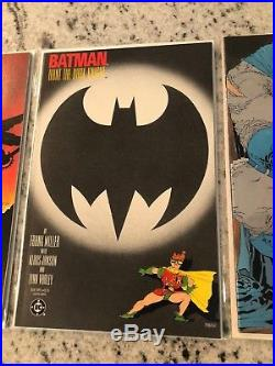 Batman The Dark Knight Returns Complete Series # 1 2 3 4 1st Prints VF-NM TD1