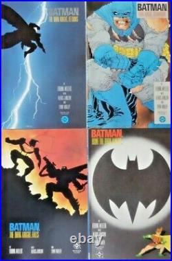 Batman The Dark Knight Returns Complete Set 1-4 $2.95 Deluxe DC 1986 Nice