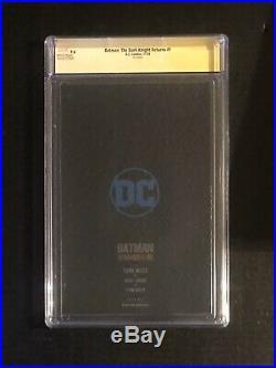 Batman The Dark Knight Returns Foil Virgin CGC SS 9.6 signed by Frank Miller