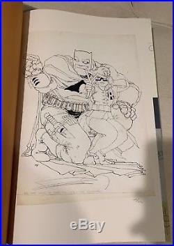 Batman The Dark Knight Returns Gallery Edition RARE #165/275 Signed Frank Miller