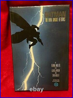Batman The Dark Knight Returns Hc 1st Print 1986 Nm High Grade Make An Offer