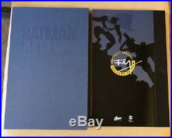 Batman The Dark Knight Returns Limited Signed and Numbered Gallery Edition