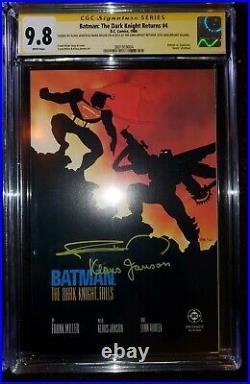 Batman The Dark Knight Returns Set 1-4 9.8 CGC SS Frank Miller & Klaus Janson