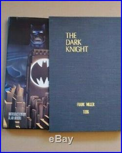 Batman The Dark Knight Signed Frank Miller #1096 Hardcover with Slipcase. Rare