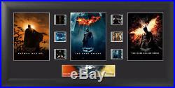 Batman The Dark Knight Trilogy Mounted Filmcell Collectible