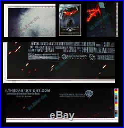 Batman The Dark Knight Uncut Color-bar Printer's Proof Movie Poster 1-sheets