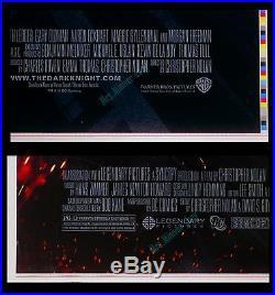 Batman The Dark Knight Uncut Color-bar Printer's Proof Movie Poster 1-sheets